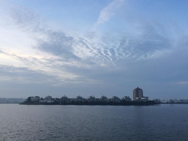 Vertrek 's ochtends vanuit Lelystad