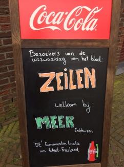Warm welkom in Enkhuizen