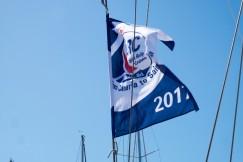ARC vlag gehesen...leuk voor de contacten en de korting:)