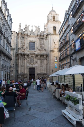 Straat in Ourense