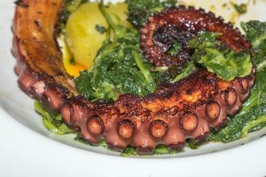 Heerlijke octopus