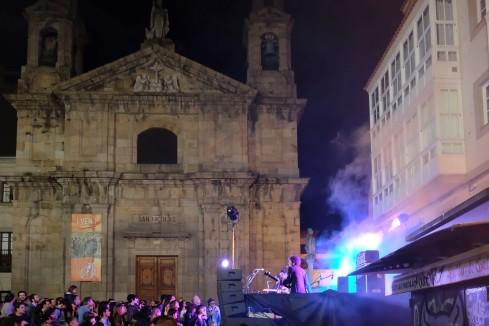 Feest in Coruna
