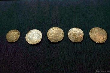 Munten gevonden in het gezonken VOC schip
