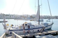 Klaar voor vertrek richting Madeira