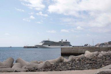 Cruiseboot in Funchal