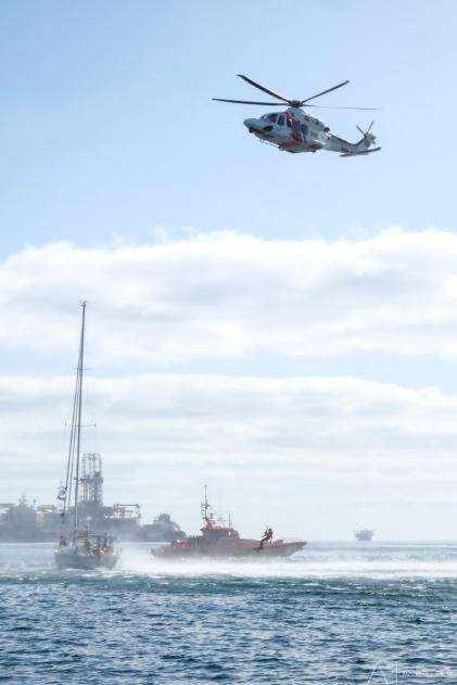 Helicopter rescue demonstratie