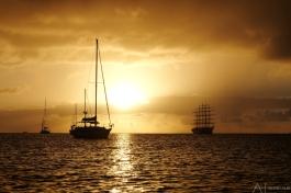 Mooi uitzicht op Rodney Bay